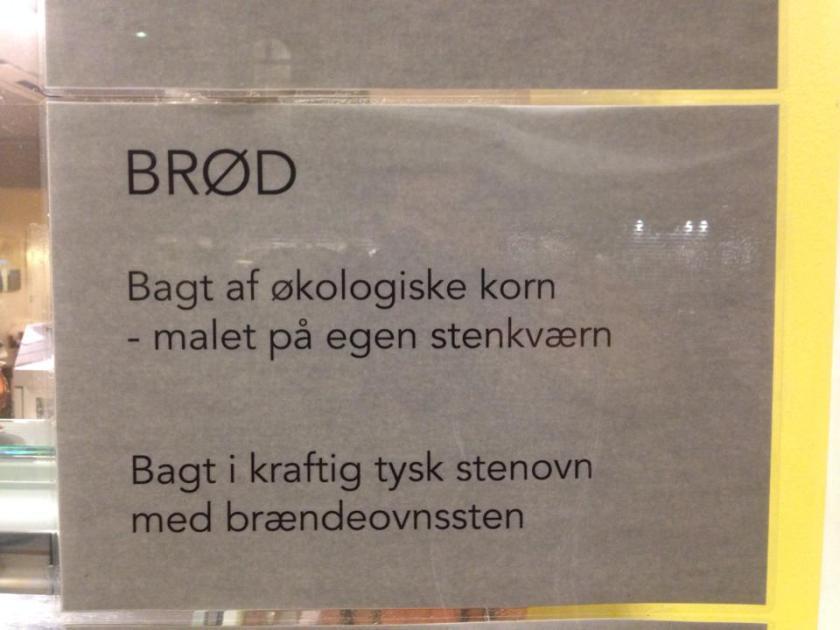Brød...